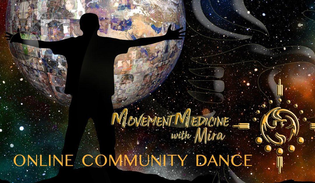 ONLINE COMMUNITY DANCE